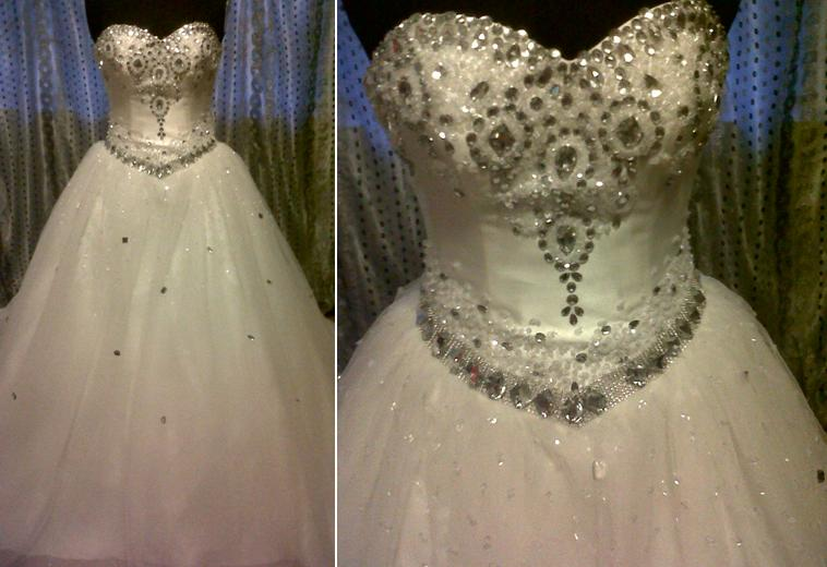 Heaven Wedding Gown: Exclusive Glitter Bridal Gowns « Directory